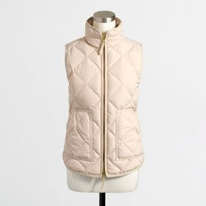 NWOT J. Crew Quilted Puffer Vest